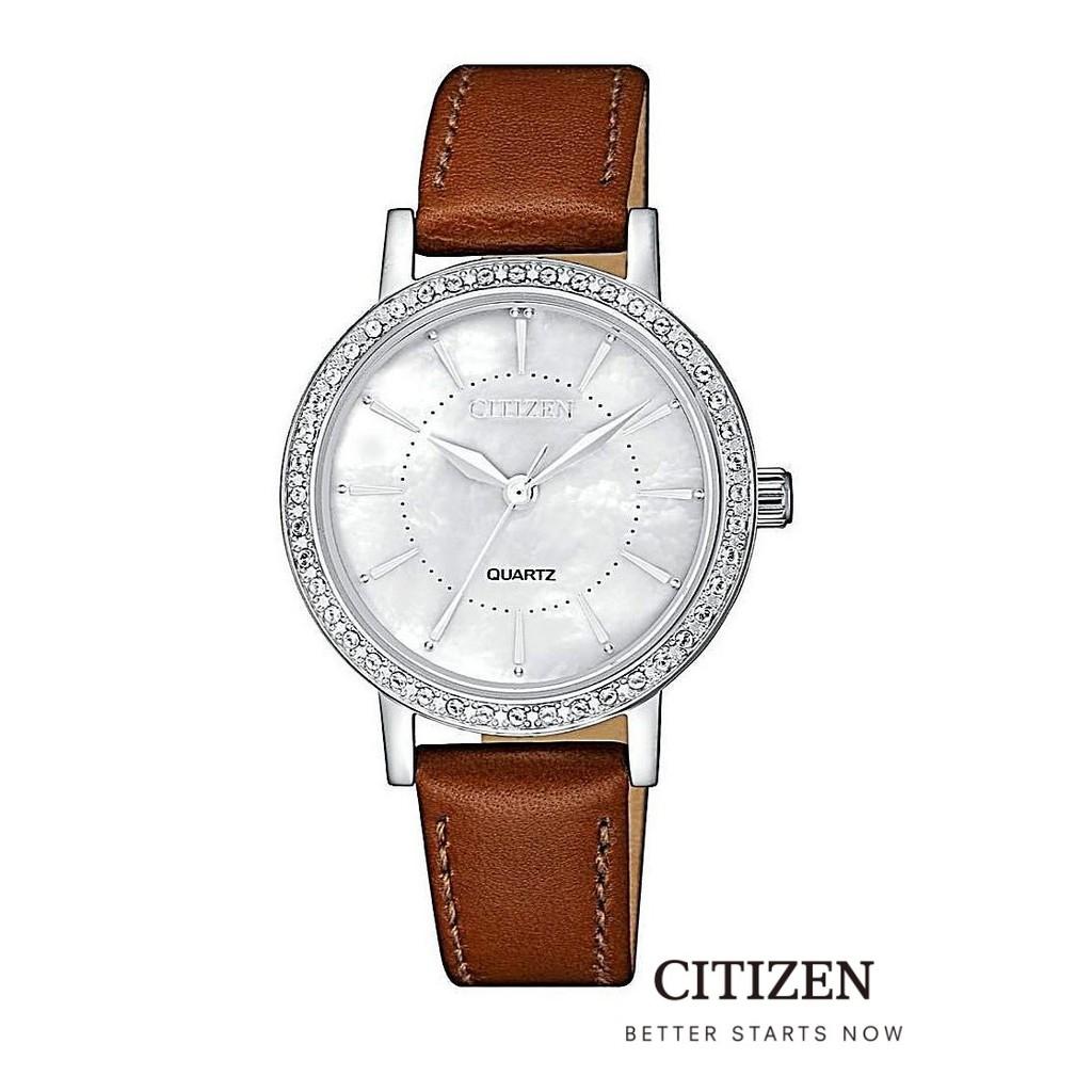 CITIZEN EL3040-12D Mother Of Pearl Lady Watch Quartz