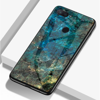 Review Xiaomi Mi 8 Lite 9 9 se Redmi Note 7 6 5 S2 Marble Design Tempered Glass Soft Frame Hard Back Slim Case Cover