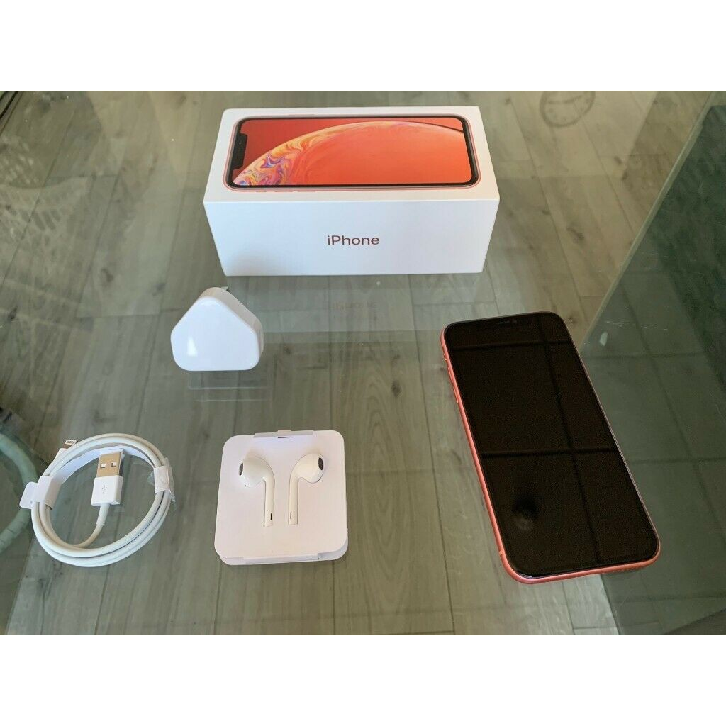 Coral Apple Iphone XR 64GB