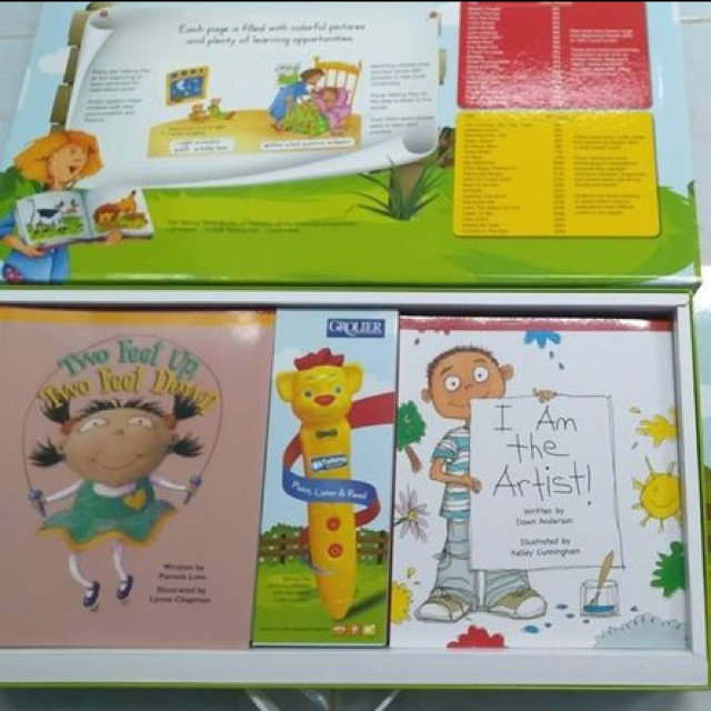 Talking English Story Book ปากกาพูดได้ของแท้จาก Grolier