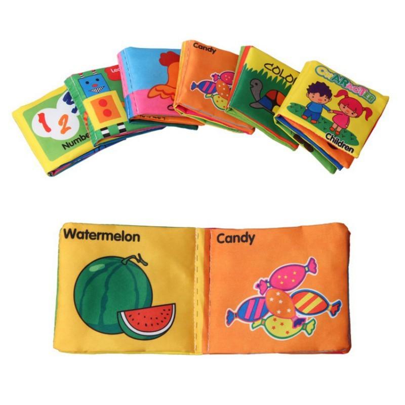 Soft Books Infant Children Early Cognitive Educational Development Cloth Books ae2d