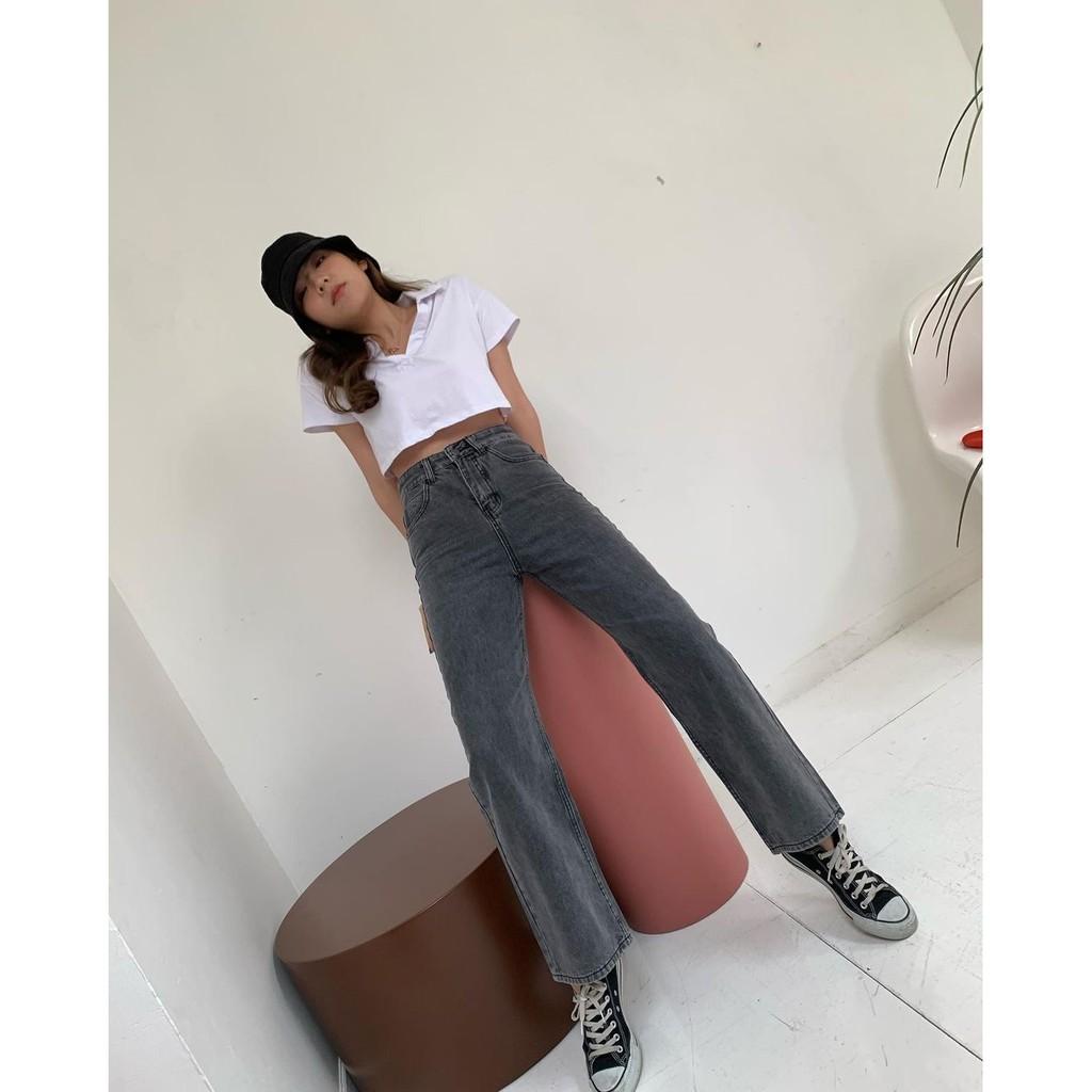 stylist_shop   pants098 Long Leg Jeans
