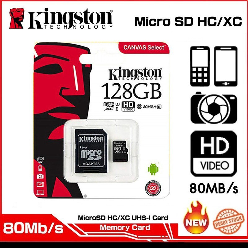 Kingston【 2 For The Price of ONE 】micro SD to SD Card Adapter SDHC SDXC