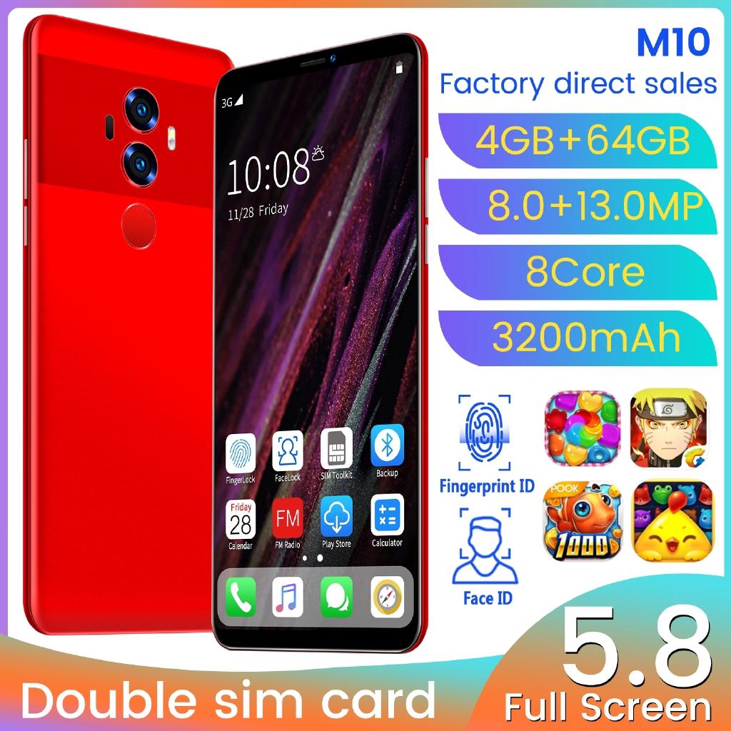 สมาร์ทโฟน M 10 4 Gb Ram 64 Gb Rom 5 . 8 นิ้ว Murah 3g