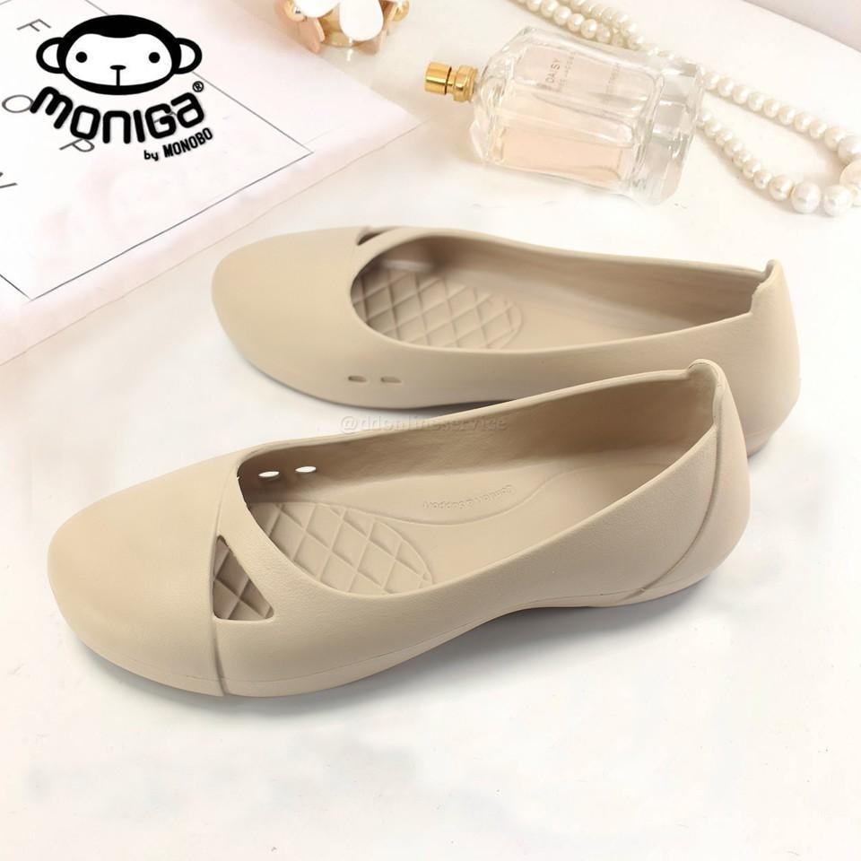 MONOBO รองเท้าคัชชูผู้หญิง รองเท้าคัชชูยาง รองเท้าใส่ทำงาน รุ่น Moniga Winter1