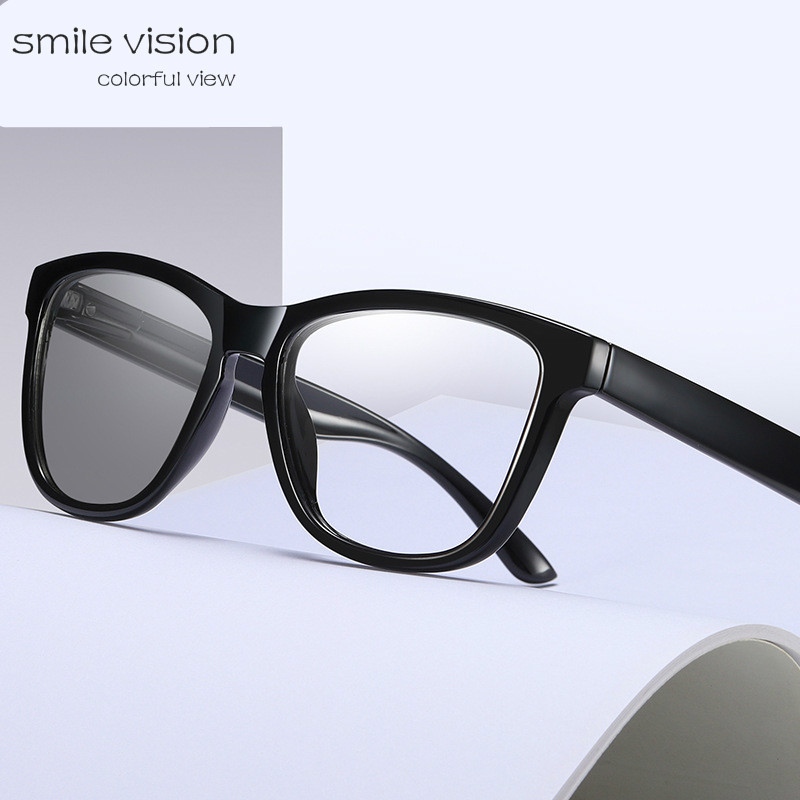 2020  New Anti Blue Light Glasses Color Changing Glasses Photochromic Sunglasses