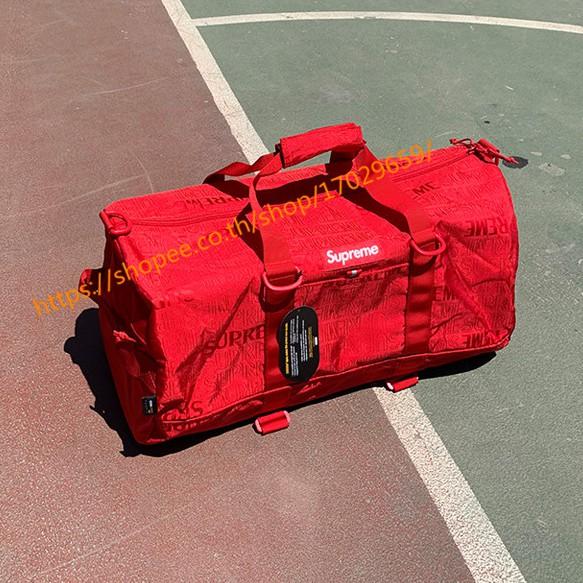 Supreme ท่องเที่ยว Travel Bag Duffel bag supreme กระเป๋าเดินทาง กระเป๋า เดินทาง  ของ 100% สีเขียว supreme กระเป๋าจัดระเบียบเดินทาง  กระเป๋าโค้ช  กระเป๋าเสริมเดินทาง
