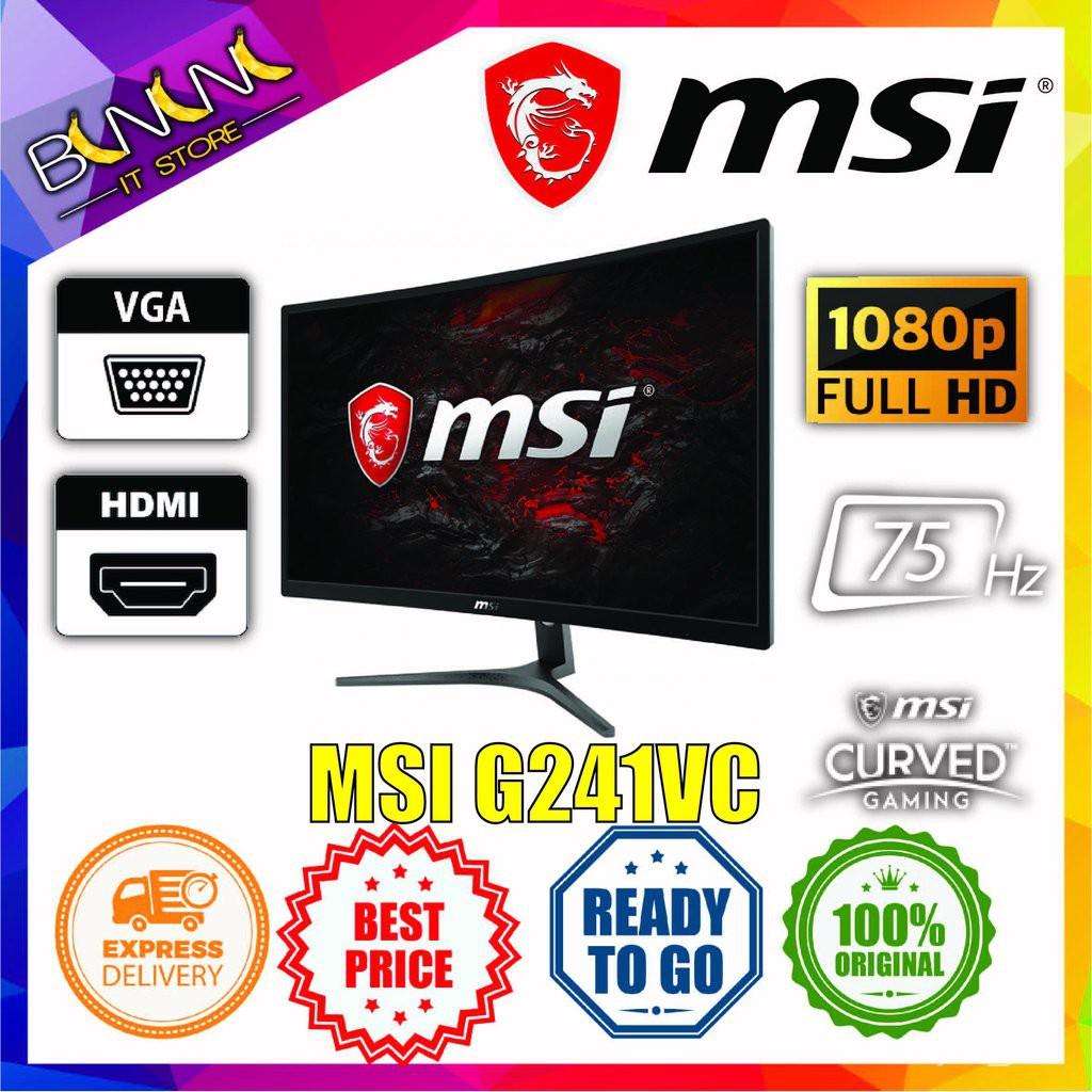 fmC4 [Ready Stock] MSI Optix G241VC   G241   G24C4   G271   G27C4   G27C5   MAG241CGAMING MONITOR, SIMILAR TO XV270P   G