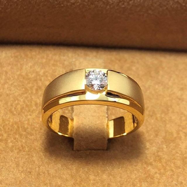 แหวนทองแท้เพชรแท้สวยๆราคาโรงาน