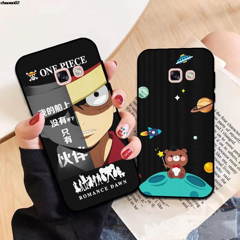 Samsung A3 A5 A6 A7 A8 A9 Pro Star Plus 2015 2016 2017 2018 RXMH Pattern-3 Silicon Case Cover