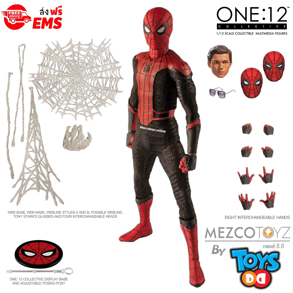 Mezco One:12 Collectif Spider-Man Far from Home Exclusive 6-inch Figure