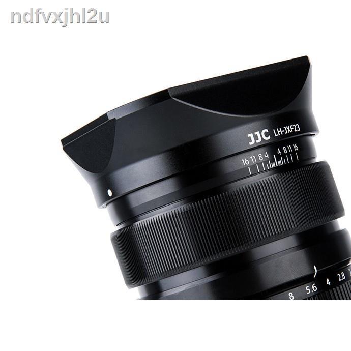 💥Sale💥{พร้อมส่ง}❃♈ฮูดเลนส์ JJC LH-JXF23 สำหรับเลนส์ Fuji 23mm F1.4 และ 56mm F1.2