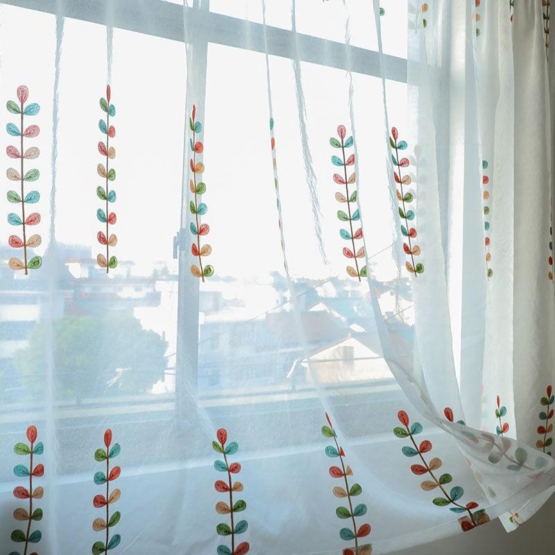 🌹🍀สปอต # ผ้าม่านสำเร็จรูปไม่ต้องเจาะติดตั้งแบบเวลโครบานหน้าต่างม่านระเบียงตกแต่งบ้าน