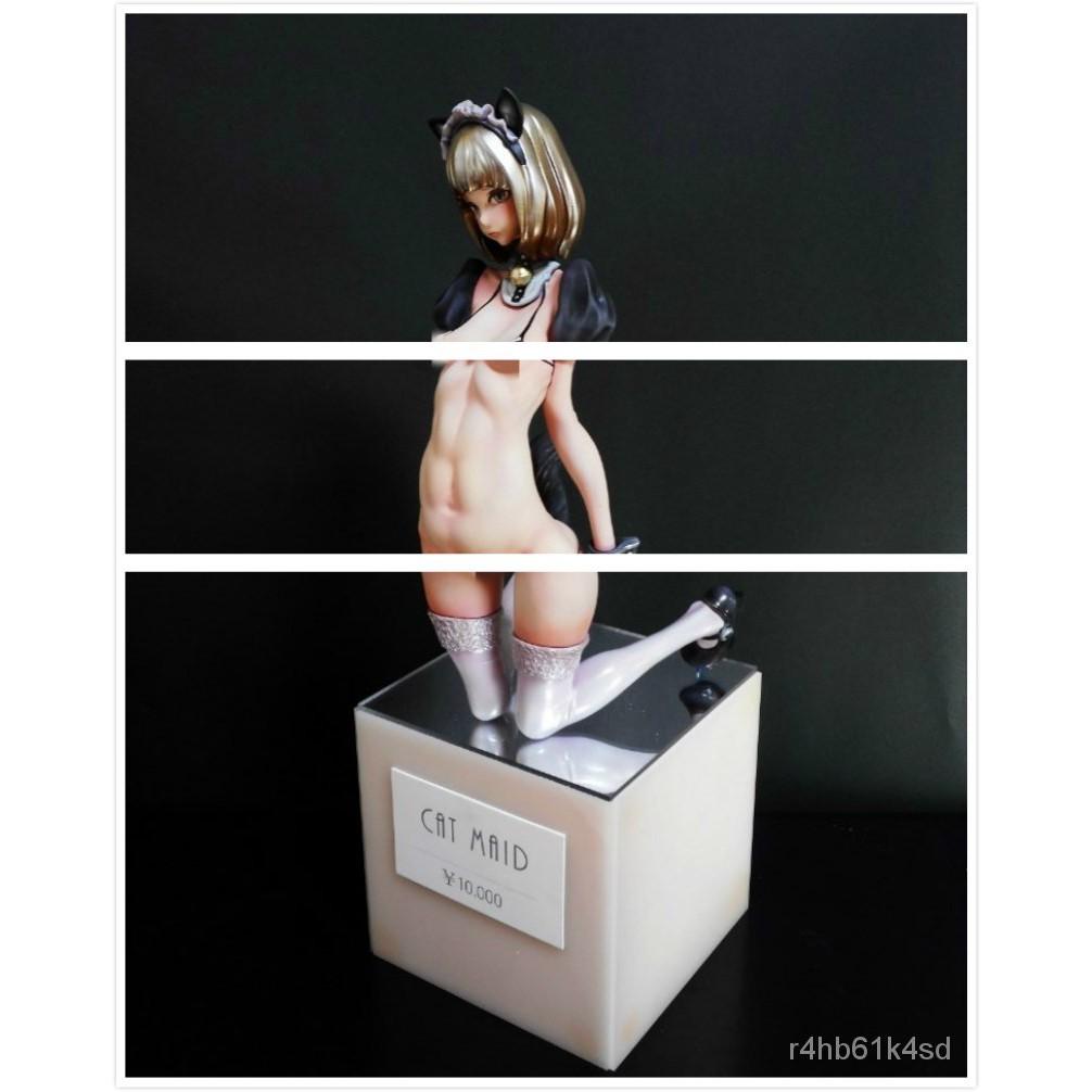 Resin Figure Kit CAT MAID Unainted Garage Resin Kit#¥%¥# zFLQ