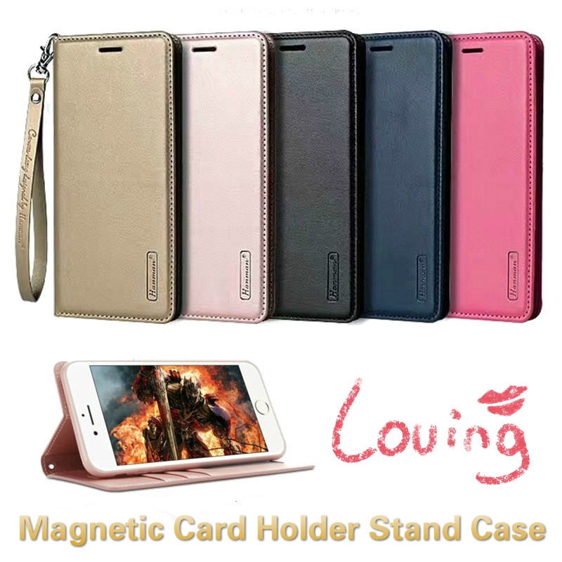Magnetic Wallet เคสฝาพับ iPhone 11 Pro Max Stand Case Cover Apple iPhone 12 Pro XR XS Max Card Holder Leather Case iPhone 12 เคส มือถือ