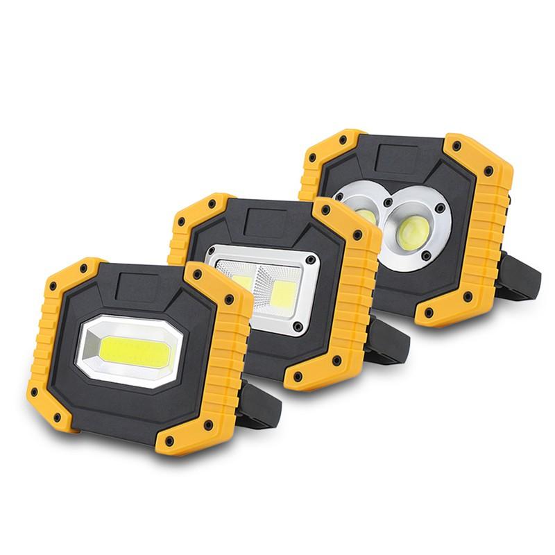 20W Led Work Light Cordless Floodlight Cob Emergency Security Lights With Usb ZJ