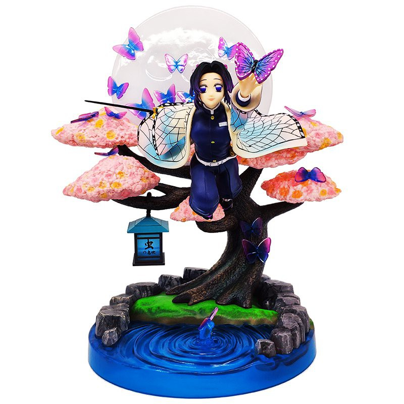 Demon Slayer GK Kochou Shinobu Anime Action Figure Model 31CM PVC Lovely Girl Statue Collection Toys Desktop Decoration