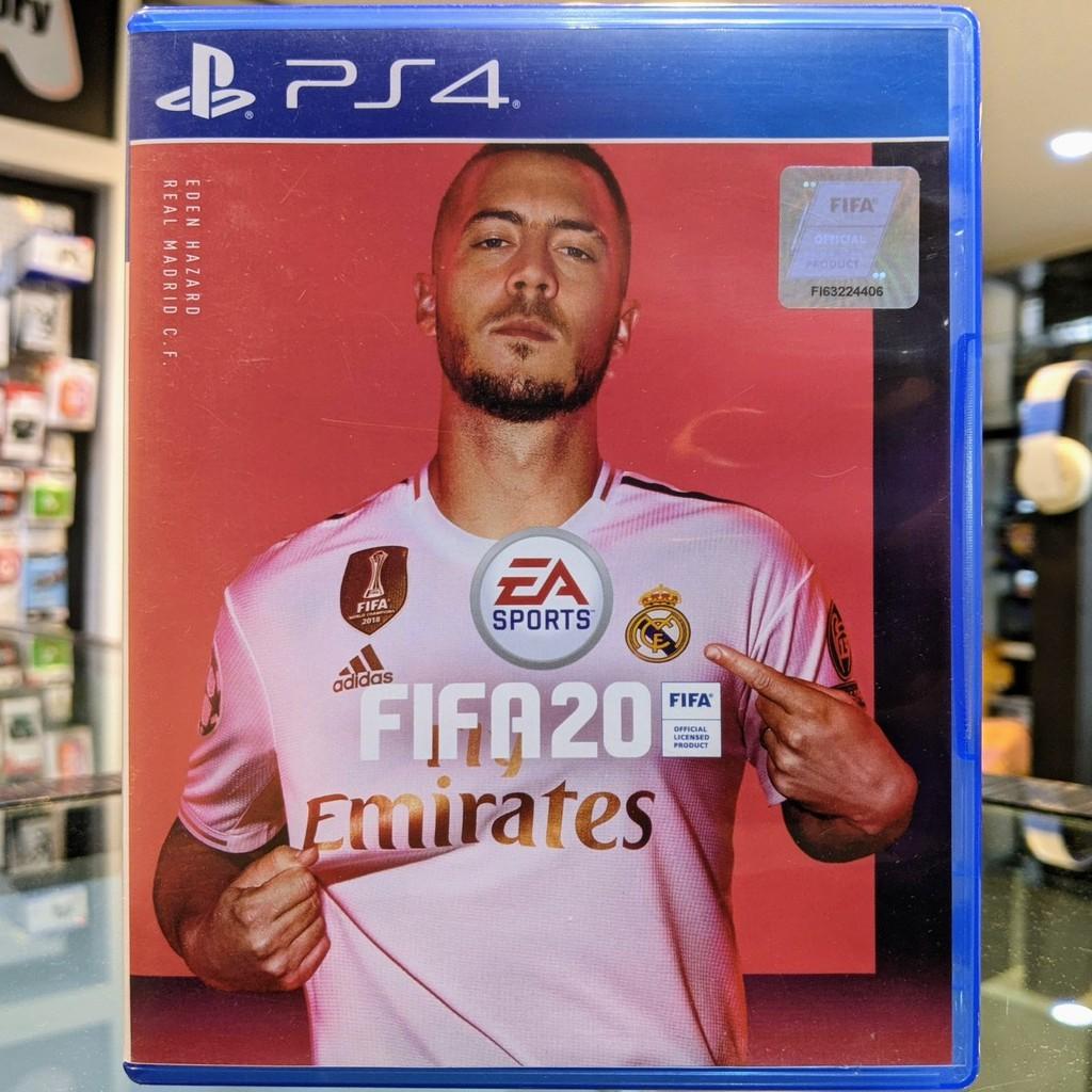 (ภาษาอังกฤษ) มือ2 FIFA 20 แผ่นเกม PS4 แผ่นPS4 มือสอง (เล่น2คนได้ FIFA20 Football Soccer PES เกมบอล)