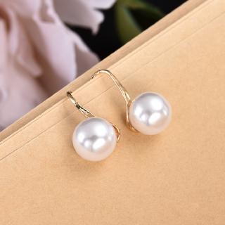 Elegant Women Lady Leaf Stainless Steel Stud Earrings Jewelry Gifts Gold//Silver