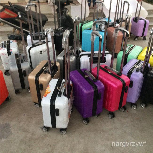 กระเป๋าเดินทางเทรนด์เกาหลี14-นิ้วรถเข็นขนาดเล็ก16-กระเป๋าเดินทางรหัสผ่านขนาดนิ้ว18กระเป๋าเดินทางนิ้วชายและหญิงคอมพิวเตอร