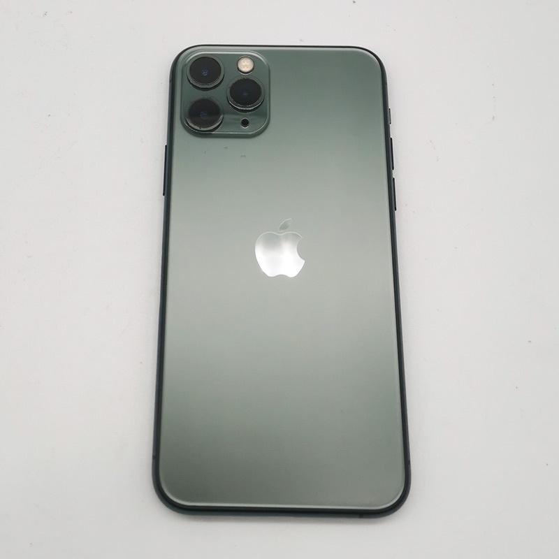 ☃☑♈99 ใหม่ iPhone 11 Pro สีเขียวเข้มคืนสีเขียว 64G โทรศัพท์มือถือมือสองเต็ม Netcom Xianyu Youpin