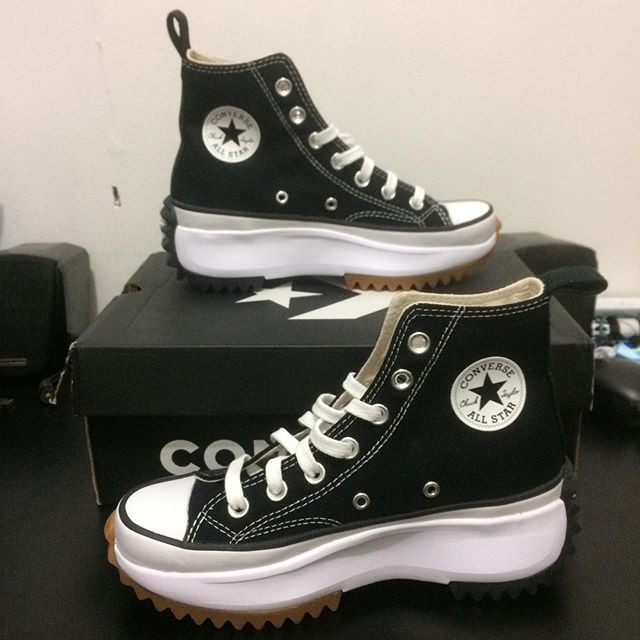 Converse Run Star Hike Black Hi/Low