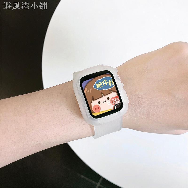 สายนาฬิกาข้อมือแบบใสสําหรับ Applewatch 56se Iwatch