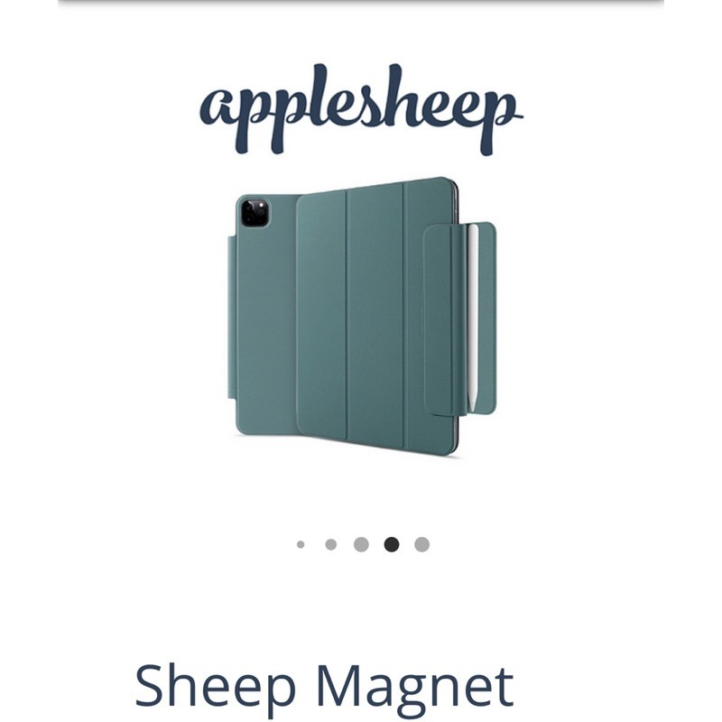 "Used Case Magnat iPad Pro 11"" 2020 จากร้าน applesheep (990.-) ตำหนิรอยจากการใช้งานนิดหน่อย"