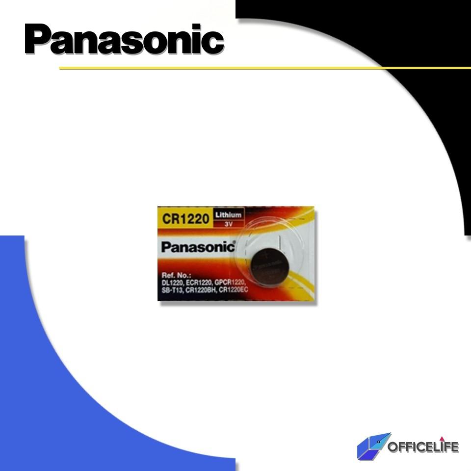 [1เม็ด] ถ่านกระดุม ถ่าน Panasonic CR2032 2025 2016 1632 1620 1616 1220