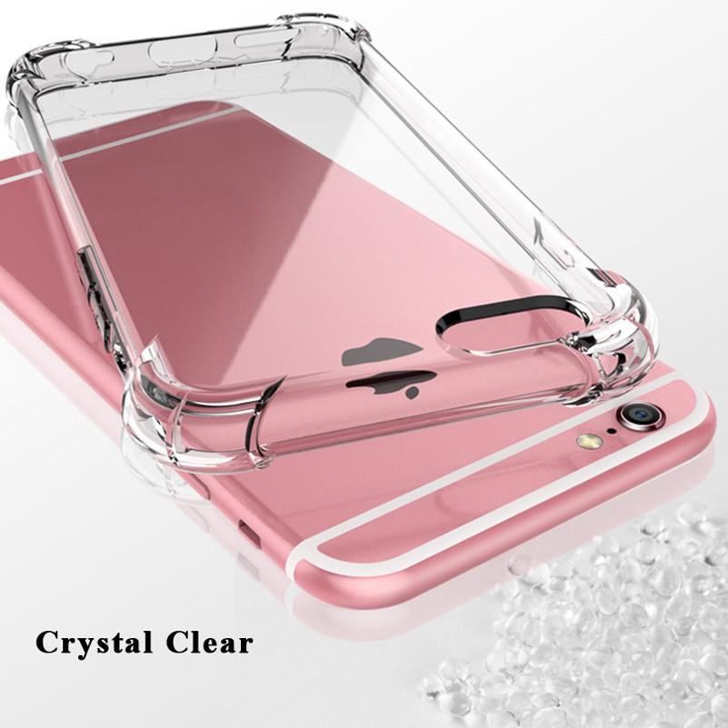 Samsung Galaxy Note 8 9 10 Pro S5 S6 S7 S8 S9 S10 Plus A80 A70 A60 A50 A20 A30 A9 M20 M10 Transparent Fallproof TPU Case