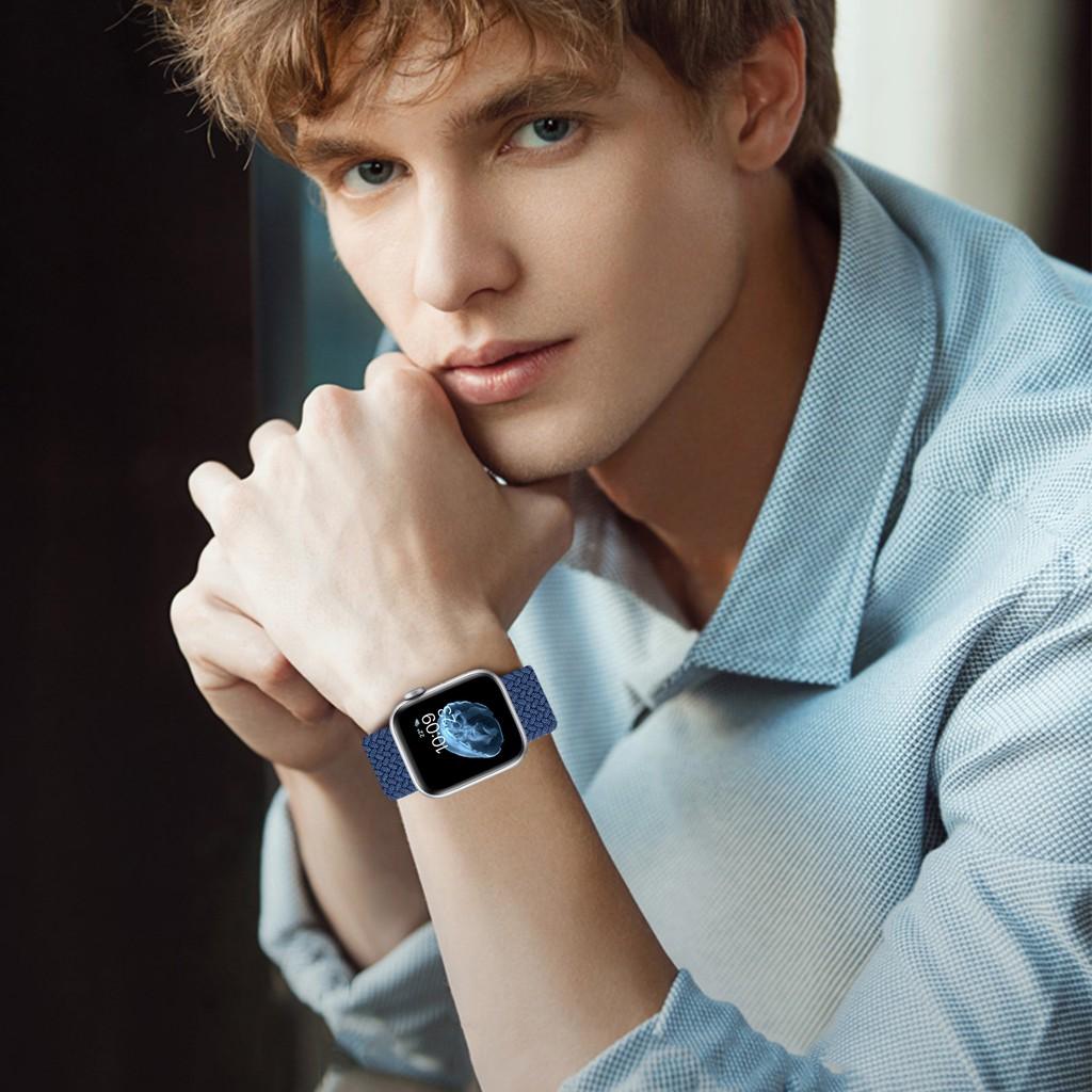 สายนาฬิกาข้อมือ Apple Watch 42 มม 40มม 38 มม 44 มม iwatch series 6 se 5 4 3 2 1 สาย applewatch MECk