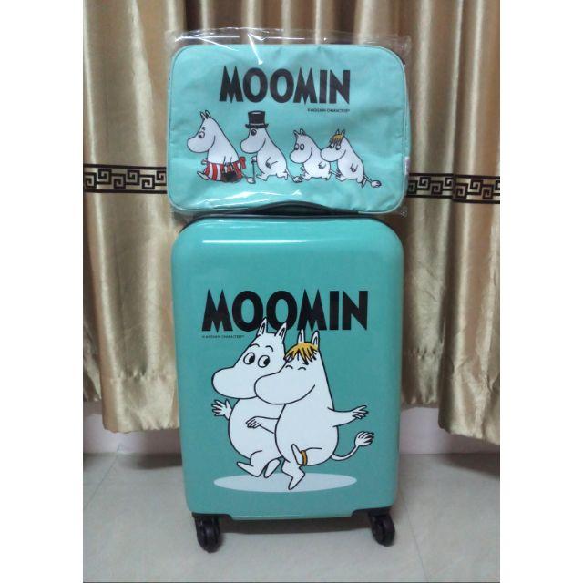 Moomin กระเป๋าเดินทาง 20 นิ้ว และกระเป๋าสะพาย