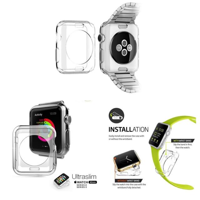 เคสCase TPU เคสกันรอย Apple Watch 38/42/40/44mm