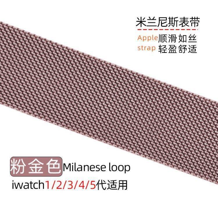 💥 สาย applewatch 🔥 iwatch6 รุ่น Apple watch se สาย Applewatch โลหะ 3/4/5 รุ่น Milanese สาย S6