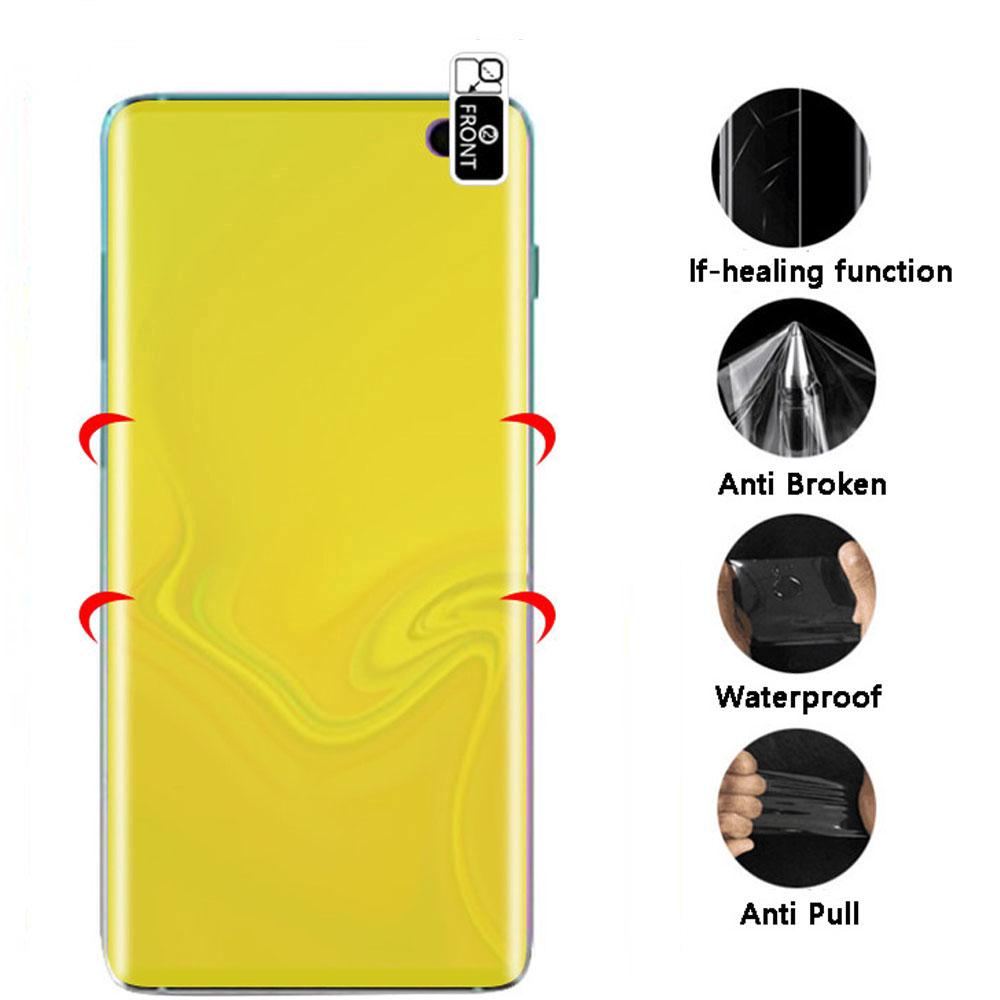 Review 7D Full Cover Hydrogel Protective Film Oppo Realme 3 / 2 Pro C1 C2 U1 OPPO A3s A5s A7 A37 F9 F11 Pro Screen Protector