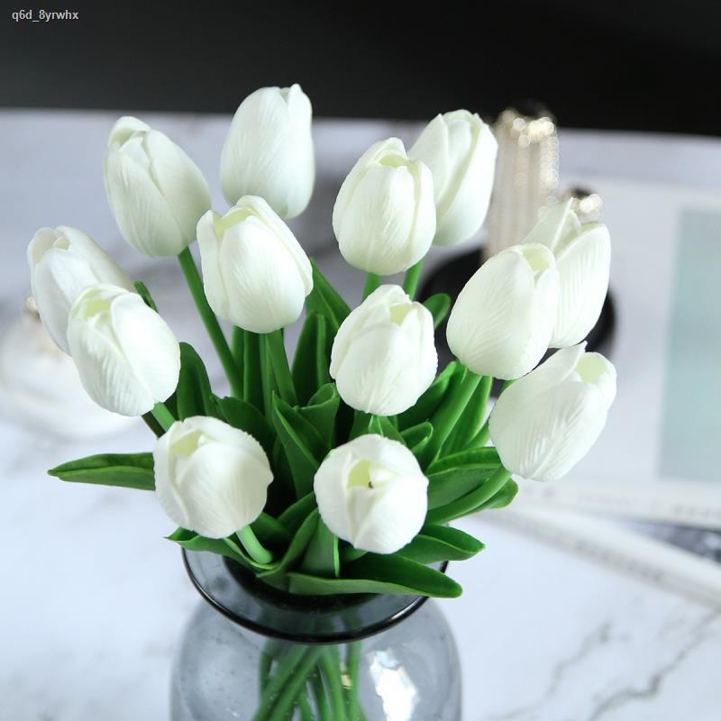 การจำลองพันธุ์ไม้อวบน้ำ▫>ดอกไม้จำลองงานแต่งงาน ทิวลิปจิ๋ว ดอกไม้ปลอม ห้องนั่งเล่น การจัดดอกไม้ในกระถาง งานแต่งงาน ตกแต่ง