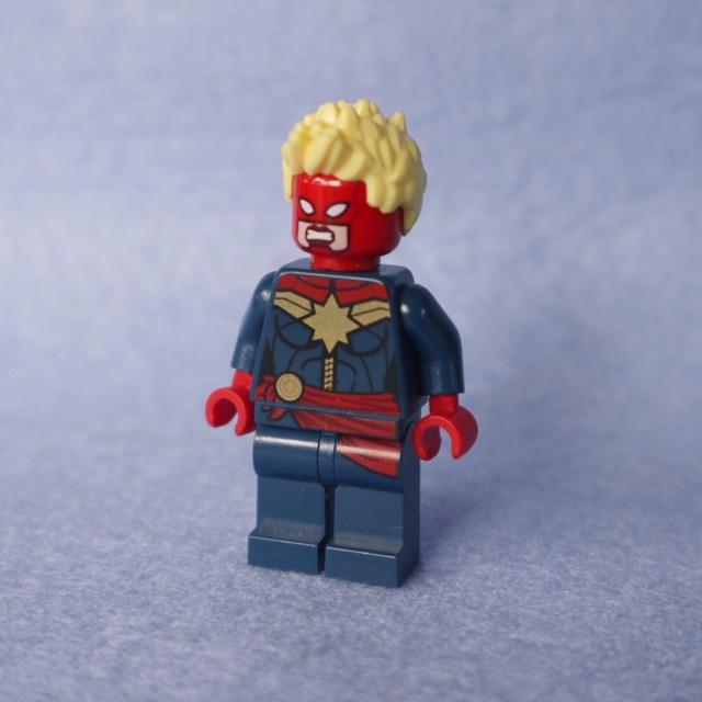 Lego Captain Marvel Marvel Mini Figures (ใหม่)