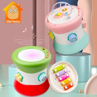 Kids Baby Hand Drums Xylophone Children Pat Drum Musical Instruments Baby Toys 6-12 Months Toddler Girl Music Toys For B