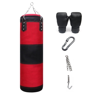 Professional Boxing Punching Bag Training Gym Fitness Equipment With Hanging Kick Sandbag Adults Exercise Empty-Heavy Bo