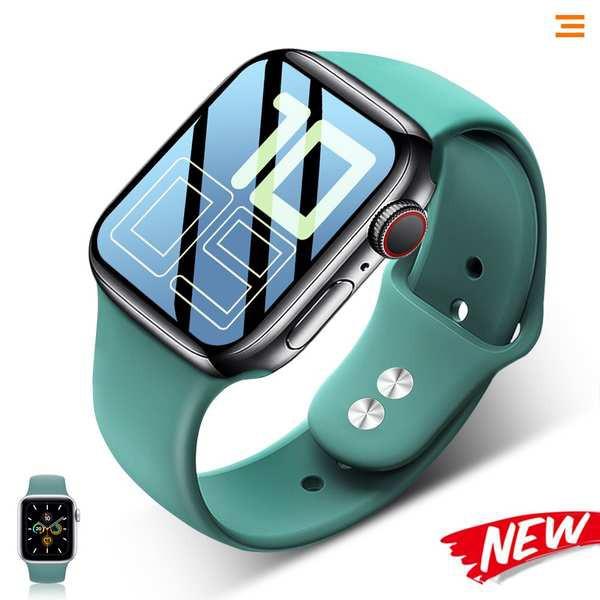 สาย applewatch สาย Applewatch ที่ใช้งานได้สายนาฬิกา Apple Apple watch5 สายคล้องตัวแทน iwatch2 / 3 ซิลิโคนกีฬา 40 มม. 44