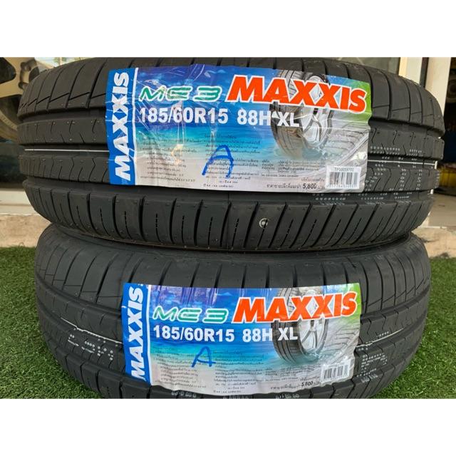 ยางใหม่ปี19 Maxxis ME3 185/60R15