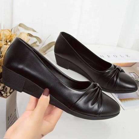 รองเท้าคัชชู รองเท้าส้นเตี้ย รองเท้าส้นแบน รองเท้าผู้หญิง รองเท้าใส่ทำงาน รุ่นสุภาพ