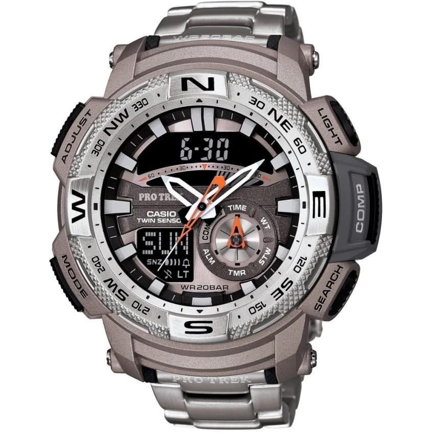 Casio นาฬิกาผู้ชาย สายสแตนเลส รุ่น PRG-280D-7