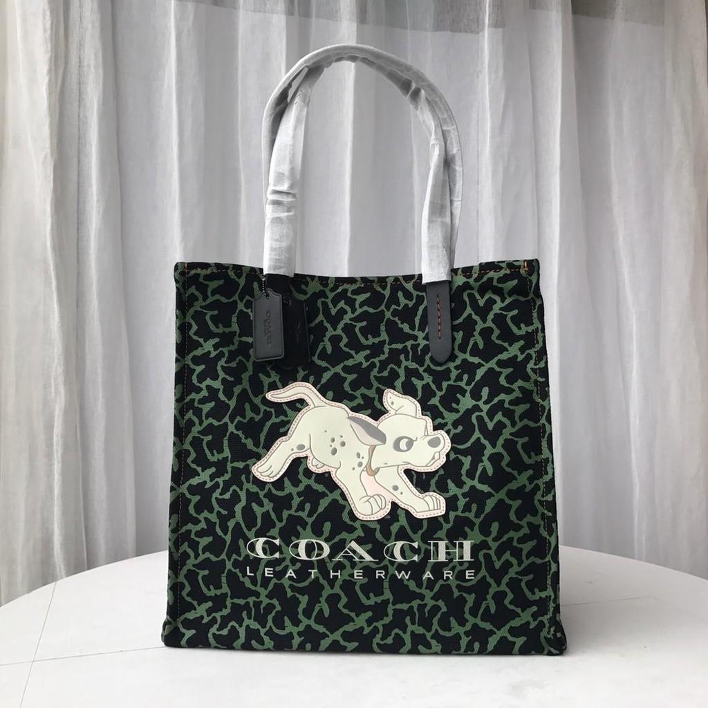 COACH F69177 กระเป๋าสะพายข้างผู้หญิง / กระเป๋าถือ / กระเป๋าผ้าแคนวาส