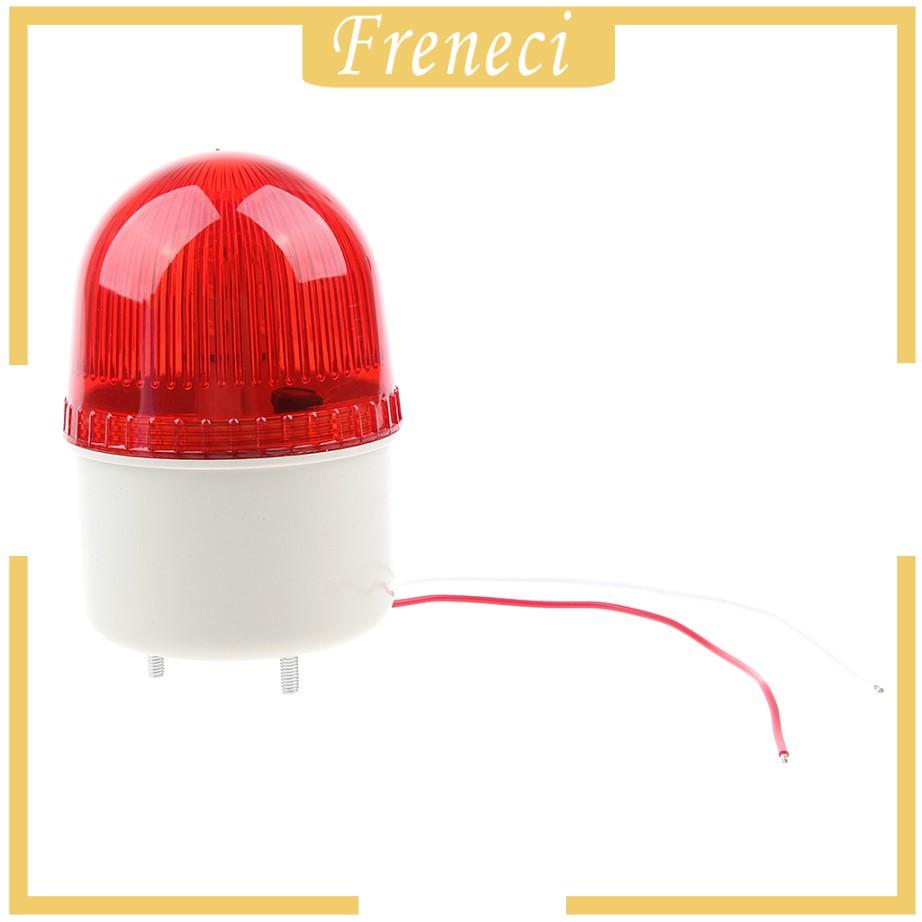 Freneci โคมไฟหลอดไฟสัญญาณเตือนไฟฉุกเฉิน Led Buzzer Ac220v