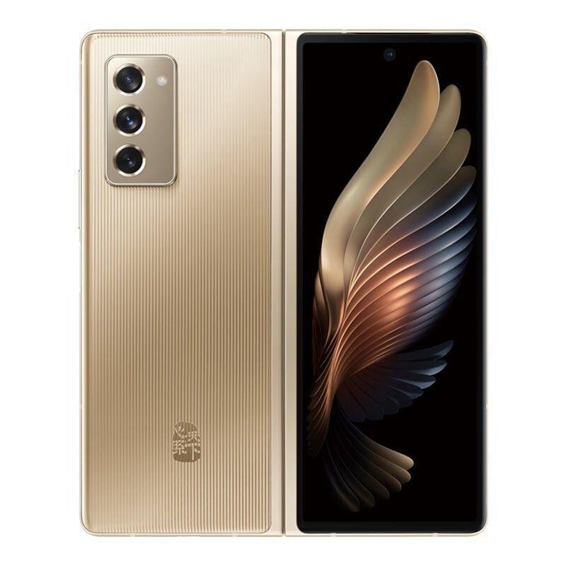 ซัมซุง SAMSUNG หัวใจโลกW21 Xiaolong865+ 5Gโทรศัพท์ 熠辉ทอง 12GB+512G FZVk