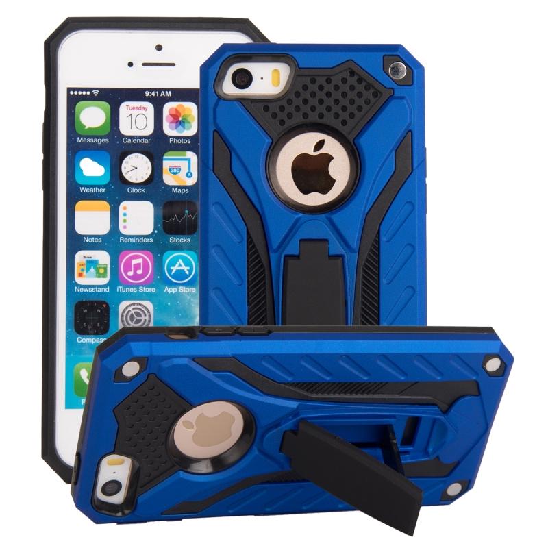 เคสโทรศัพท์มือถือ Tpu + Pc สอง In - One สําหรับ Iphone Se 5 6 S 7 8 Plus