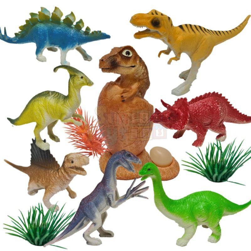 ไดโนเสาร์โมเดล 18ตัว คละแบบ( Dinosaur figure)