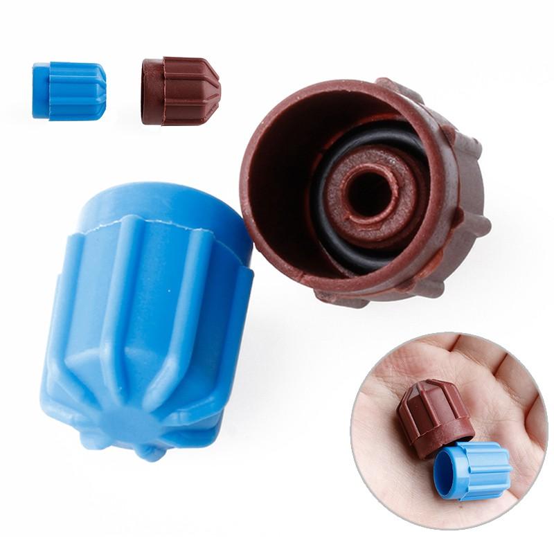 4Pcs R134a Car AC A//C Valve Cap Refrigerant Valve High//Low Voltage Dust Cover