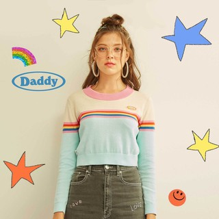 Review 🌈💖Daddy Rainbow Dash Knit Top💖🌈